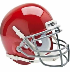 Ohio State Buckeyes Red Schutt Authentic Mini Helmet