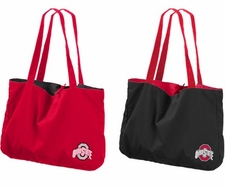 Ohio State Buckeyes Reversible Tote Bag