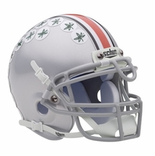Ohio State Buckeyes Schutt Authentic Mini Helmet