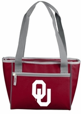 Oklahoma Sooners 16 Can Cooler Tote