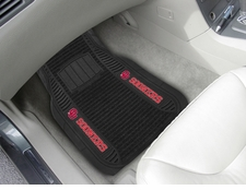 Oklahoma Sooners 2-Piece Deluxe Car Mats