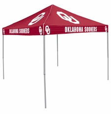 Oklahoma Sooners Red Logo Canopy Tailgate Tent