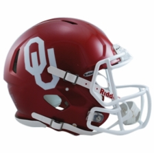 Oklahoma Sooners Riddell Revolution Speed Authentic Helmet