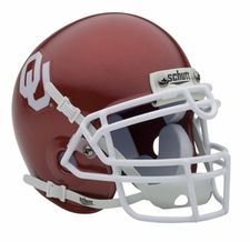 Oklahoma Sooners Schutt Authentic Mini Helmet