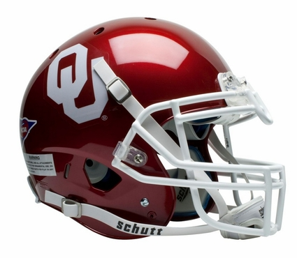 Oklahoma Sooners Schutt XP Authentic Helmet