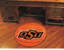 "Oklahoma State Cowboys 27"" Basketball Floor Mat"