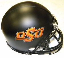 Oklahoma State Cowboys Black Riddell Replica Mini Helmet