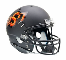 Oklahoma State Cowboys Black Schutt XP Authentic Helmet