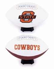 Oklahoma State Cowboys Full Size Signature Embroidered Football