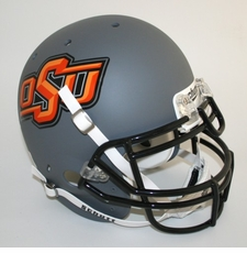 Oklahoma State Cowboys Gray Schutt Authentic Full Size Helmet