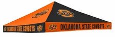 Oklahoma State Cowboys Orange / Black Checkerboard Logo Tent Replacement Canopy