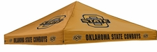 Oklahoma State Cowboys Orange Logo Tent Replacement Canopy