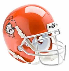 Oklahoma State Cowboys Orange Pistol Pete Schutt Authentic Mini Helmet