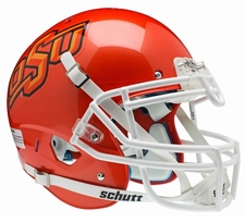 Oklahoma State Cowboys Orange Schutt XP Authentic Helmet