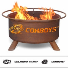 Oklahoma State Cowboys Outdoor Fire Pit
