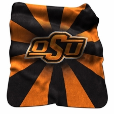 Oklahoma State Cowboys Raschel Throw