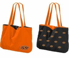 Oklahoma State Cowboys Reversible Tote Bag