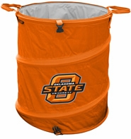 Oklahoma State Cowboys Tailgate Trash Can / Cooler / Laundry Hamper