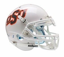 Oklahoma State Cowboys White Alternate Schutt XP Authentic Helmet