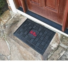 Ole Miss (Mississippi) Rebels 19x30 Medallion Door Mat