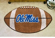 "Ole Miss (Mississippi) Rebels 22""x35"" Script Football Floor Mat"