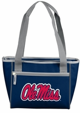Ole Miss (Mississippi) Rebels 8 Can Cooler Tote