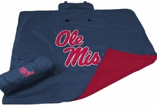 Ole Miss (Mississippi) Rebels All Weather Blanket