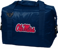Ole Miss (Mississippi) Rebels Blue 12 Pack Small Cooler