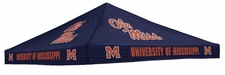 Ole Miss (Mississippi) Rebels Blue Logo Tent Replacement Canopy