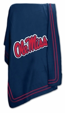 Ole Miss (Mississippi) Rebels Classic Fleece Blanket