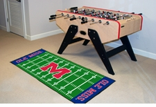 "Ole Miss (Mississippi) Rebels Football Runner 30""x72"" Floor Mat"
