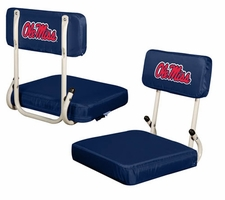 Ole Miss (Mississippi) Rebels Hard Back Stadium Seat