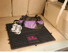 Ole Miss (Mississippi) Rebels Heavy Duty Vinyl Cargo Mat