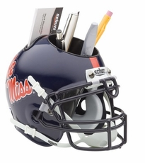Ole Miss (Mississippi) Rebels Helmet Desk Caddy