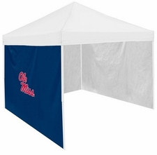 Ole Miss (Mississippi) Rebels Navy Side Panel for Logo Tents