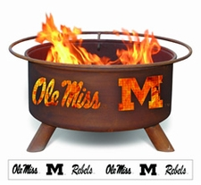 Ole Miss (Mississippi) Rebels Outdoor Fire Pit