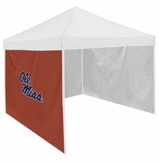 Ole Miss (Mississippi) Rebels Red Side Panel for Logo Tents