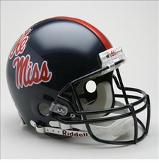 Ole Miss (Mississippi) Rebels Riddell Pro Line Authentic Helmet