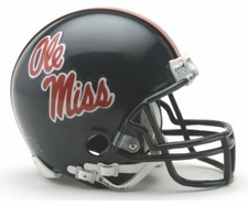 Ole Miss (Mississippi) Rebels Riddell Replica Mini Helmet