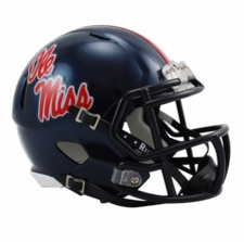 Ole Miss (Mississippi) Rebels Riddell Speed Mini Helmet