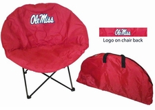Ole Miss (Mississippi) Rebels Round Sphere Chair