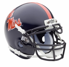Ole Miss (Mississippi) Rebels Schutt Authentic Mini Helmet