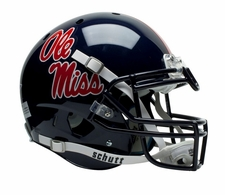 Ole Miss (Mississippi) Rebels Schutt XP Full Size Replica Helmet