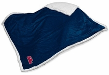Ole Miss (Mississippi) Rebels Sherpa Blanket