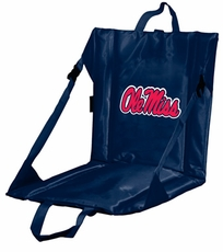 Ole Miss (Mississippi) Rebels Stadium Seat (Navy)