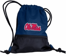 Ole Miss (Mississippi) Rebels String Pack / Backpack