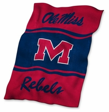 Ole Miss (Mississippi) Rebels Ultrasoft Blanket