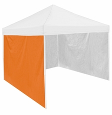 Orange Tent Side Panel for Logo Canopy Tailgate Tents