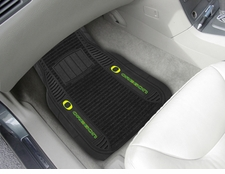 Oregon Ducks 2-Piece Deluxe Car Mats