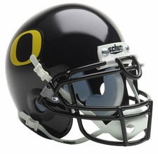 Oregon Ducks 2009 Black Schutt Throwback Mini Helmet